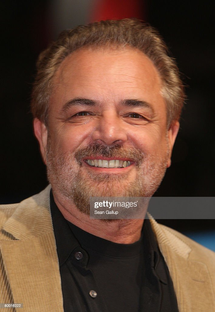 Director Uli Edel attends the world premiere of '10,000 B.C.' at the Sony Center CineStar on February 26, 2008 in Berlin, Germany.