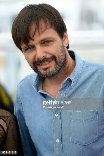 Director Ulrich Koehler attends the photocall for 'In My Room' during the 71st annual Cannes Film Festival at Palais des Festivals on May 17 2018 in...