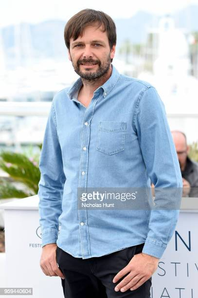 Director Ulrich Kohler attends the 'In My Room' Photocall during the 71st annual Cannes Film Festival at Palais des Festivals on May 17 2018 in...