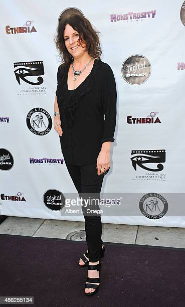 Director Ursula Dabrowsky arrives for the Etheria Film Night 2015 held at American Cinematheque's Egyptian Theatre on June 13, 2015 in Hollywood,...