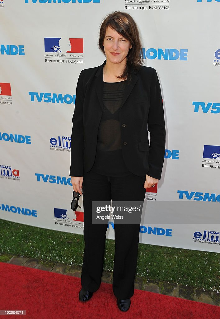 Director Ursula Meier attends an event hosted by the Consul General Of France, Mr. Axel Cruau, honoring the French nominees for the 85th Annual Academy Awards at French Consulate's Home on February 25, 2013 in Beverly Hills, California.