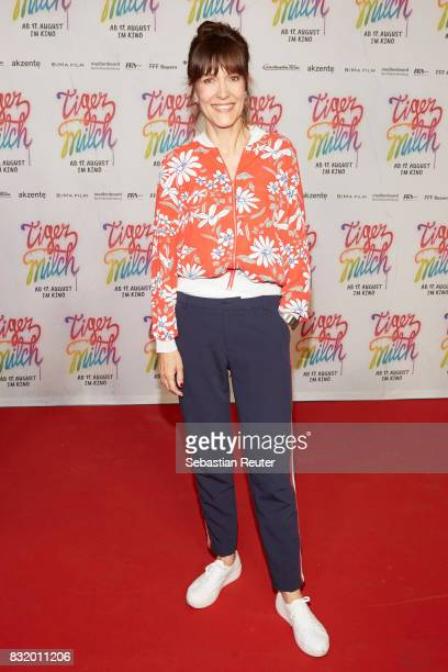 Director Ute Wielandattends the 'Tigermilch' premiere at Kino in der Kulturbrauerei on August 15 2017 in Berlin Germany