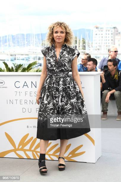 Director Valeria Golino attends the photocall for Euforia during the 71st annual Cannes Film Festival at Palais des Festivals on May 15 2018 in...