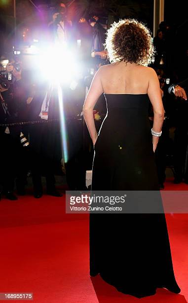 Director Valeria Golino attends the Premiere of 'Miele' during The 66th Annual Cannes Film Festival at Palais des Festivals on May 17 2013 in Cannes...