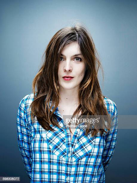 Director Valerie Donzelli is photographed for Self Assignment on February 8 2010 in Paris France