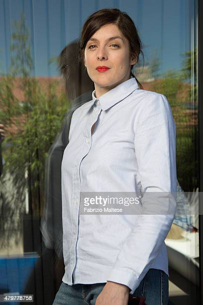 Director Valerie Donzelli is photographed for The Hollywood Reporter on May 15 2015 in Cannes France