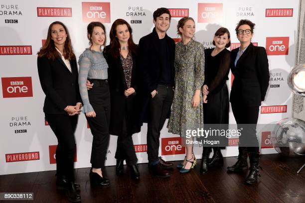 Director Vanessa Caswill Annes Elwy Emily Watson Jonah HauerKing Maya Hawke writer Heidi Thomas and producer Susie Ligatt attend the 'Little Women'...