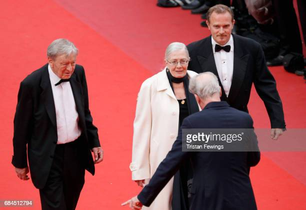 Director Vanessa Redgrave and producer Carlo Gabriel Nero of ''Sea Sorrow' attends the Loveless screening during the 70th annual Cannes Film Festival...
