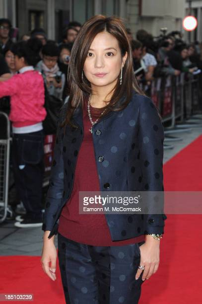 Director Vicki Zhao attends a screening of 'So Young' during the 57th BFI London Film Festival at Odeon West End on October 17 2013 in London England