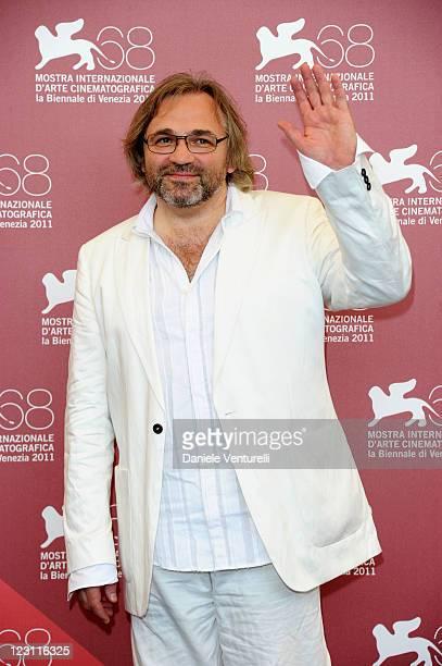 "Director Victor Kossakovsky attends the ""Vivan Las Antipodas"" Photocall during the 68th Venice International Film Festival at Palazzo de Casino on..."