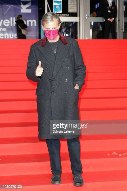 """Director Viggo Mortensen arrives for the photocall for the premiere of """"Falling"""" during 47th Gent Film Festival on October 18, 2020 in Ghent, Belgium."""