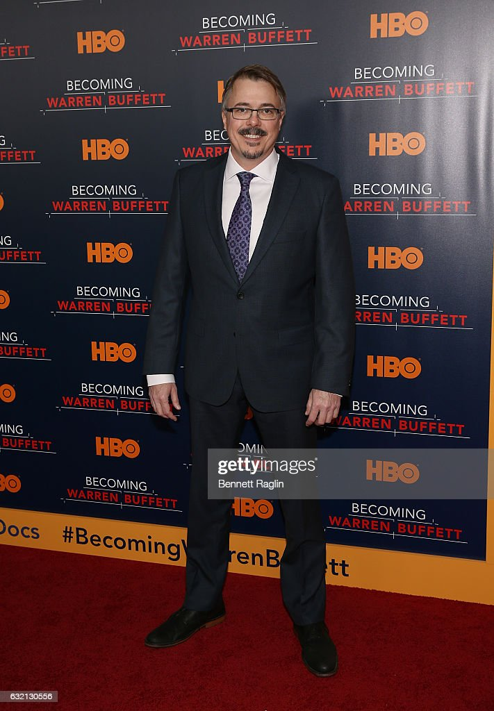 Director Vince Gilligan attends 'Becoming Warren Buffett' World premiere at The Museum of Modern Art on January 19, 2017 in New York City.