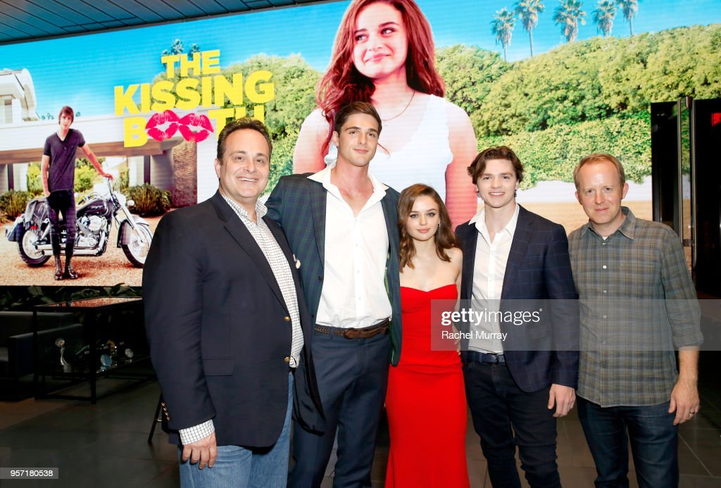 Director Vince Marcello, Jacob Elordi, Joey King, Joel