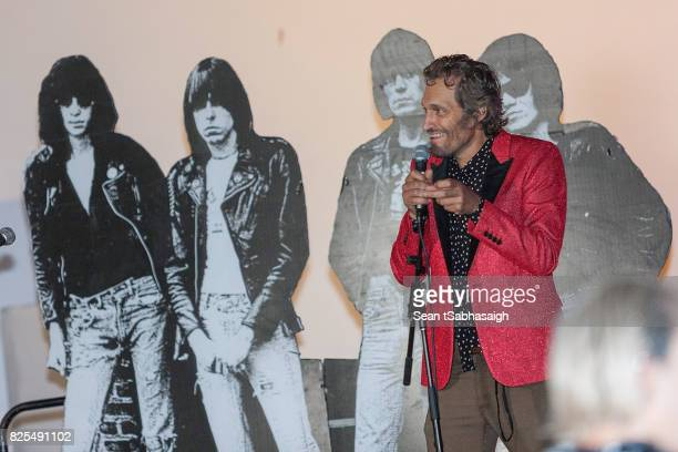 Director Vincent Gallo speaks on stage at the 2017 Johnny Ramone tribute and special screening of 'Buffalo '66' at the Hollywood Forever on July 30...