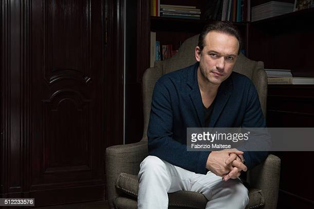 Director Vincent Perez is photographed for The Hollywood Reporter on February 15 2016 in Berlin Germany