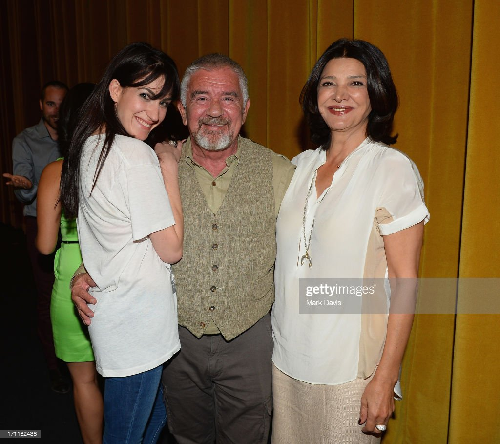 Director Virginia Cassavetes, Executive Director at Palm Springs International Film Festivals Darryl Macdonald and actress Shohreh Aghdashloo attend the 2013 Palm Springs ShortFest 'Shooting Stars' Screening held at the Camelot theater on June 21, 2013 in Palm Springs, California.