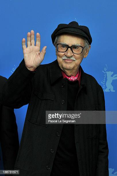 Director Vittorio Taviani attends the Cesare deve morire Photocall during day three of the 62nd Berlin International Film Festival at the Grand Hyatt...