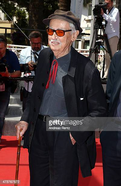 Director Vittorio Taviani attends the Premiere of Lumiere during the 68th annual Cannes Film Festival on May 17 2015 in Cannes France