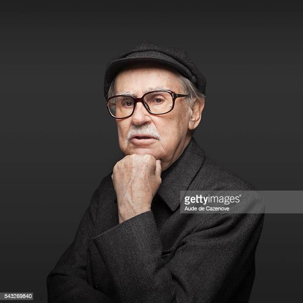 Director Vittorio Taviani is photographed for Self Assignment on February 16 2012 in Berlin Germany