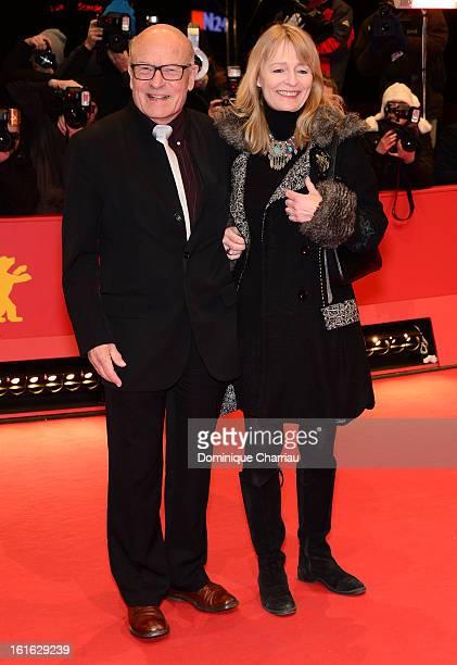 Director Volker Schloendorff and his wife Angelika Schloendorff attend the 'Night Train to Lisbon' Premiere during the 63rd Berlinale International...