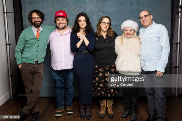 Director Wally Wolodarsky, actress Jenny Slate, director Maya Forbes, actor Jack Black, actress Jacki Weaver, actor Willie Garson, from the film The...