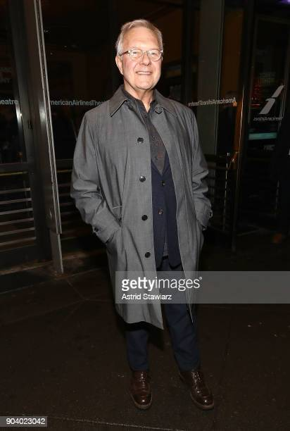 Director Walter Bobbie attends 'John Lithgow Stories By Heart' opening night at American Airlines Theatre on January 11 2018 in New York City