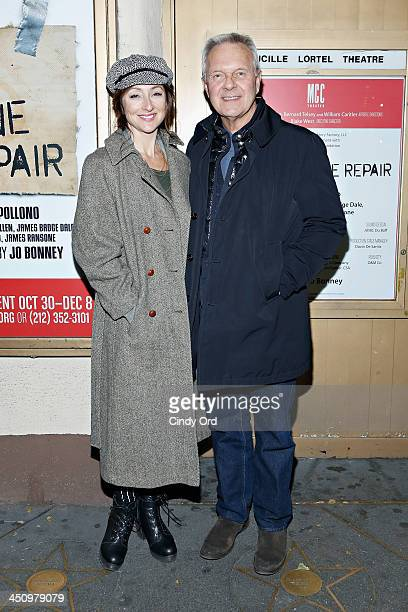 Director Walter Bobbie attends the Small Engine Repair Opening Night at Lucille Lortel Theatre on November 20 2013 in New York City