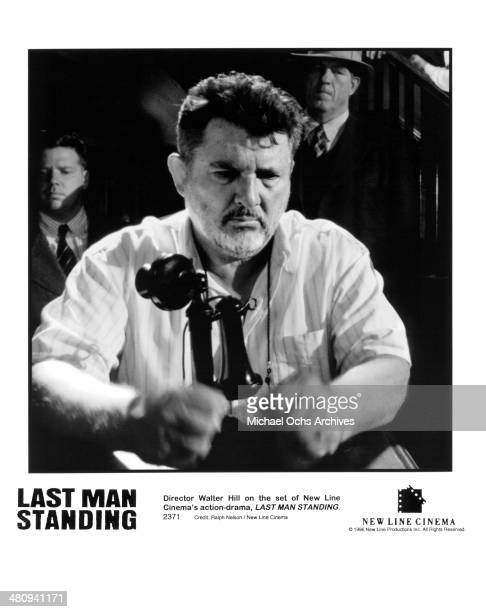 Director Walter Hill on the set of the movie 'Last Man Standing' circa 1996