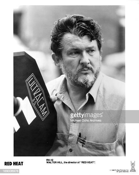 Director Walter Hill poses for a portrait on the set of ' Red Heat' in circa 1988
