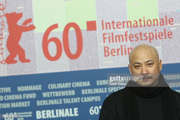 Director Wang Quan�an and actress Lisa Lu attends the 'Tuan Yuan' Press Conference during day one of the 60th Berlin Film Festival at the Grand Hyatt...