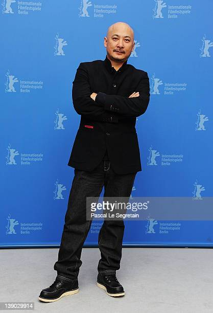 """Director Wang Quan'an attends the """"Bai Lu Yuan"""" Photocall during day seven of the 62nd Berlin International Film Festival at the Grand Hyatt on..."""