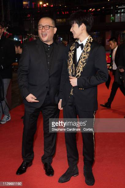 Director Wang Xiaoshuai and Wang Yuan attend the 'So Long My Son' premiere during the 69th Berlinale International Film Festival Berlin at Berlinale...