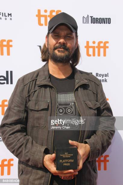 Director Warwick Thornton poses after being awarded the 2017 Toronto Platform Prize for 'Sweet Country' at the 2017 TIFF Awards Ceremony at TIFF Bell...