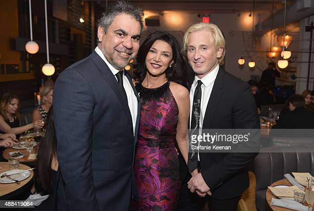 Director Wayne Blair actress Shohreh Aghdashloo and guest attend the Septembers of Shiraz TIFF Party Hosted By GREY GOOSE Vodka at Byblos on...