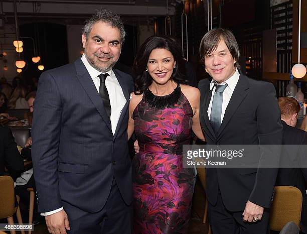 Director Wayne Blair actress Shohreh Aghdashloo and producer Alan Siegel attend the Septembers of Shiraz TIFF Party Hosted By GREY GOOSE Vodka at...