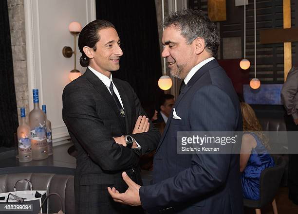Director Wayne Blair and actor Adrien Brody attend the Septembers of Shiraz TIFF Party Hosted By GREY GOOSE Vodka at Byblos on September 15 2015 in...