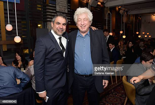 Director Wayne Blair and executive producer Avi Lerner attend the Septembers of Shiraz TIFF Party Hosted By GREY GOOSE Vodka at Byblos on September...
