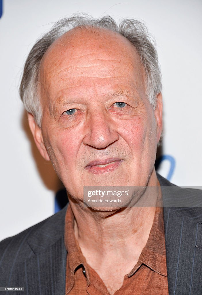 Director Werner Herzog arrives at a special Los Angeles screening of his film 'From One Second To The Next' at the SilverScreen Theater at the Pacific Design Center on August 8, 2013 in West Hollywood, California.