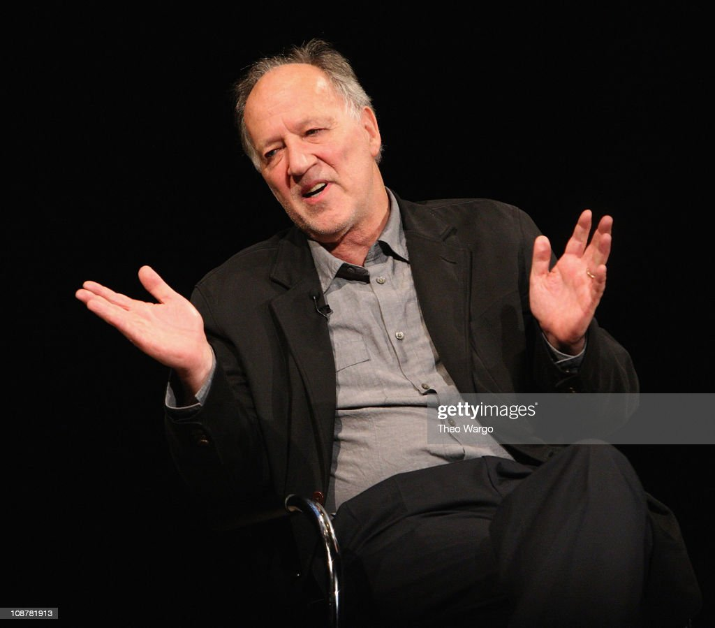 Director Werner Herzog at the Moving Image Source presented by Moving Image at The Times Center June 5, 2008 in New York City