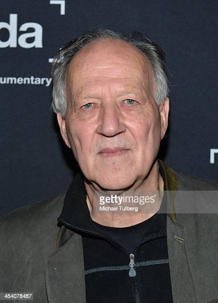 Director Werner Herzog attends the International Documentary Association's 2013 IDA Documentary Awards at Directors Guild Of America on December 6...