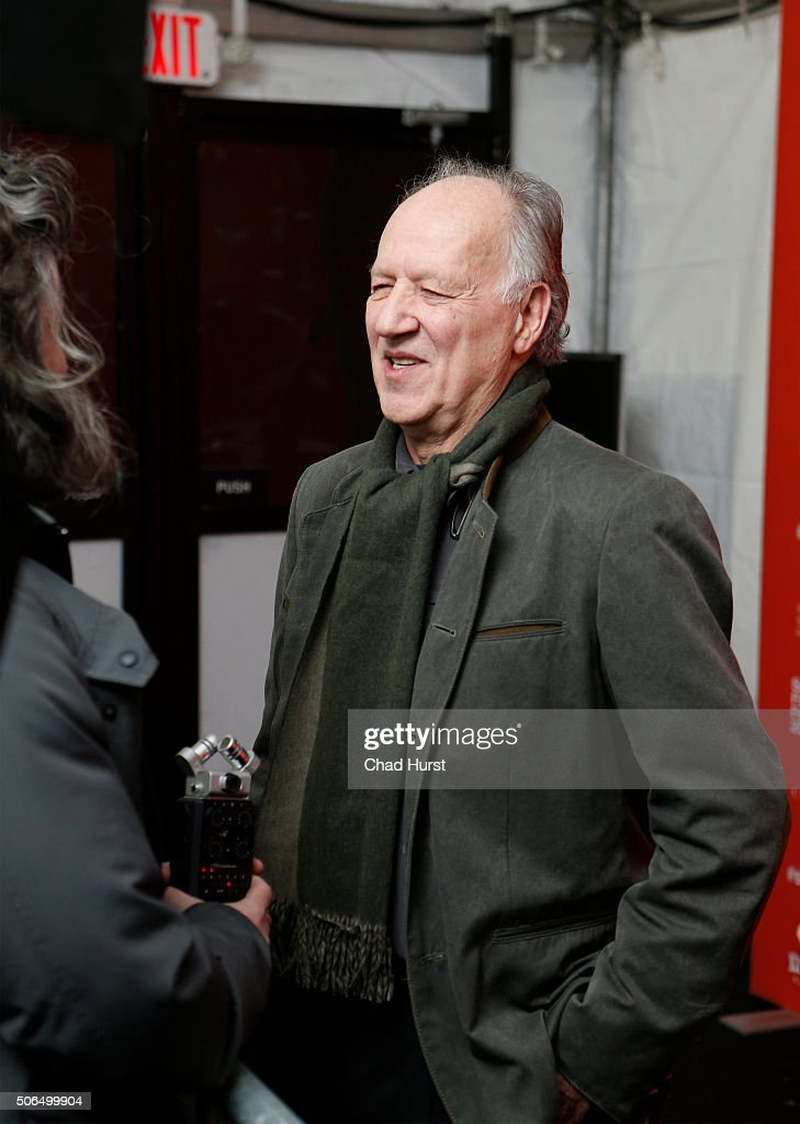Director Werner Herzog attends the 'Lo And Behold, Reveries Of The Connected World' Premiere during the 2016 Sundance Film Festival at The Marc Theatre on January 23, 2016 in Park City, Utah.