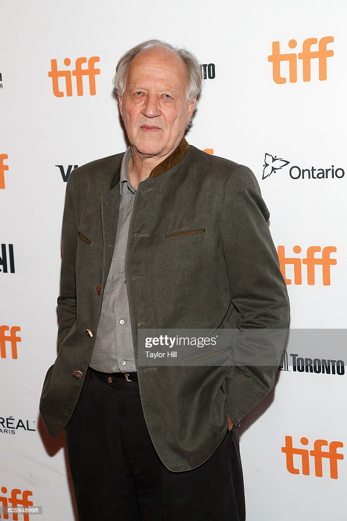 Director Werner Herzog attends the premiere of 'Salt and Fire' during the 2016 Toronto International Film Festival at Winter Garden Theatre on September 15, 2016 in Toronto, Canada.
