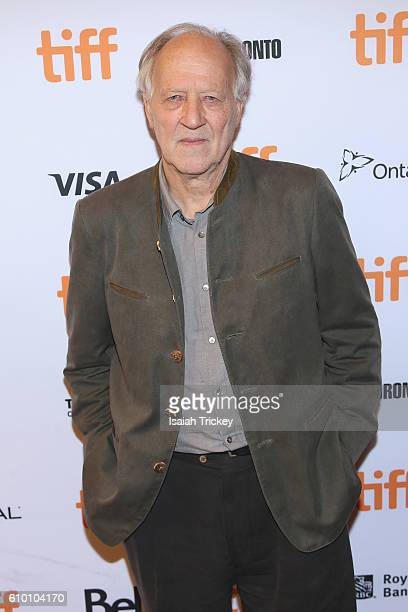 Director Werner Herzog attends the 'Salt and Fire' premeire during the 2016 Toronto International Film Festival at The Elgin on September 15 2016 in...