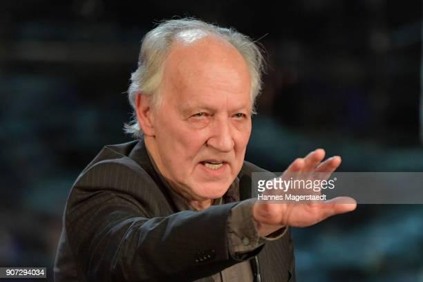 Director Werner Herzog during the Bayerischer Filmpreis 2018 at Prinzregententheater on January 19 2018 in Munich Germany