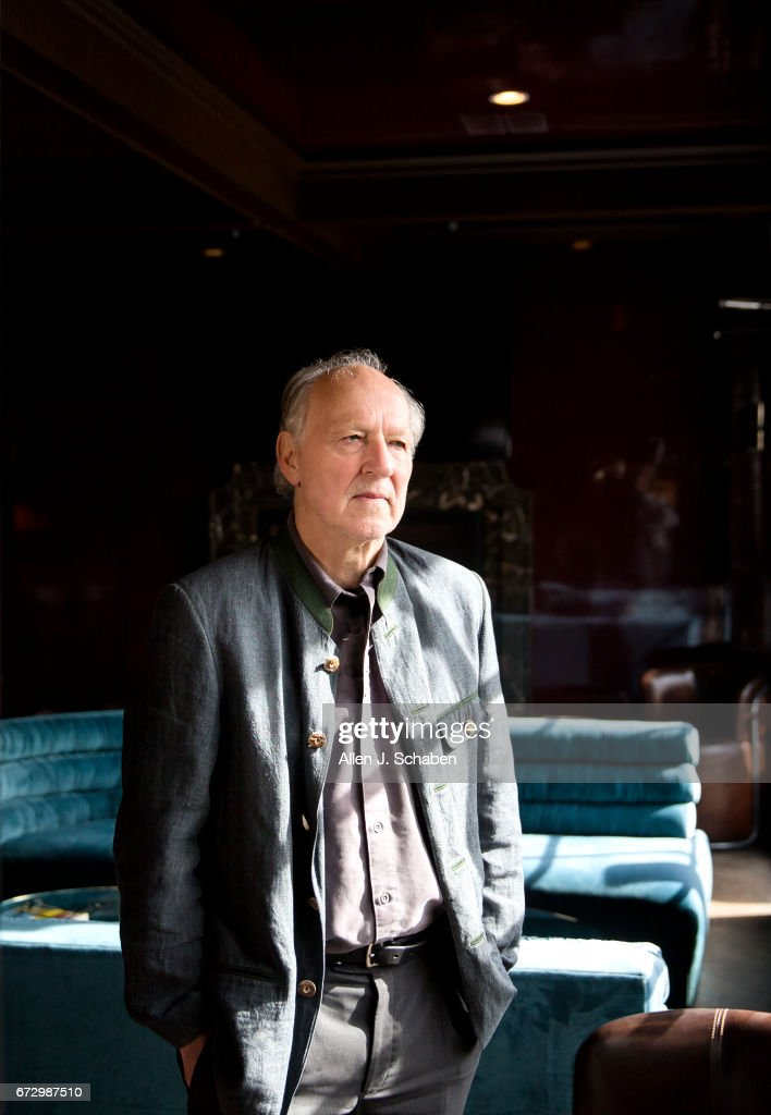 Director Werner Herzog is photographed for Los Angeles Times on April 7, 2017 in Los Angeles, California. PUBLISHED IMAGE.