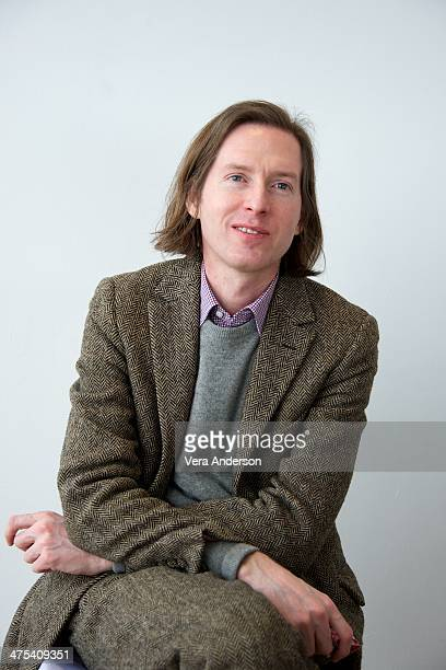 Director Wes Anderson at The Grand Budapest Hotel Press Conference at the Crosby Hotel on February 26 2014 in New York City