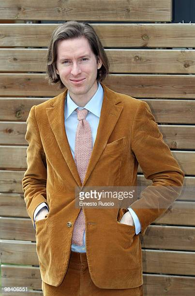 Director Wes Anderson attends the 'Fantastic Mr Fox' photocall at La Casa Del Cinema on April 12 2010 in Rome Italy