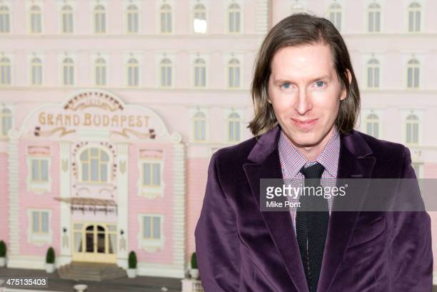 Director Wes Anderson attends The Grand Budapest Hotel premiere at Alice Tully Hall on February 26 2014 in New York City