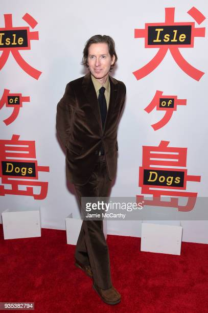 """Director Wes Anderson attends the """"Isle Of Dogs"""" New York Screening at The Metropolitan Museum of Art on March 20, 2018 in New York City."""