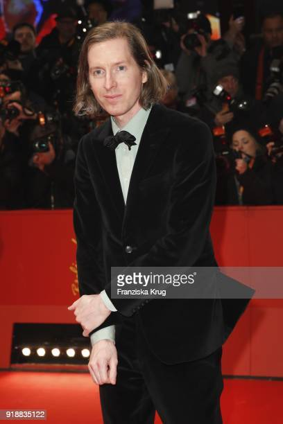 Director Wes Anderson attends the Opening Ceremony 'Isle of Dogs' premiere during the 68th Berlinale International Film Festival Berlin at Berlinale...